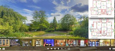 Virtuelle 360° Tour durch das Stadtmuseum Villa Böhm