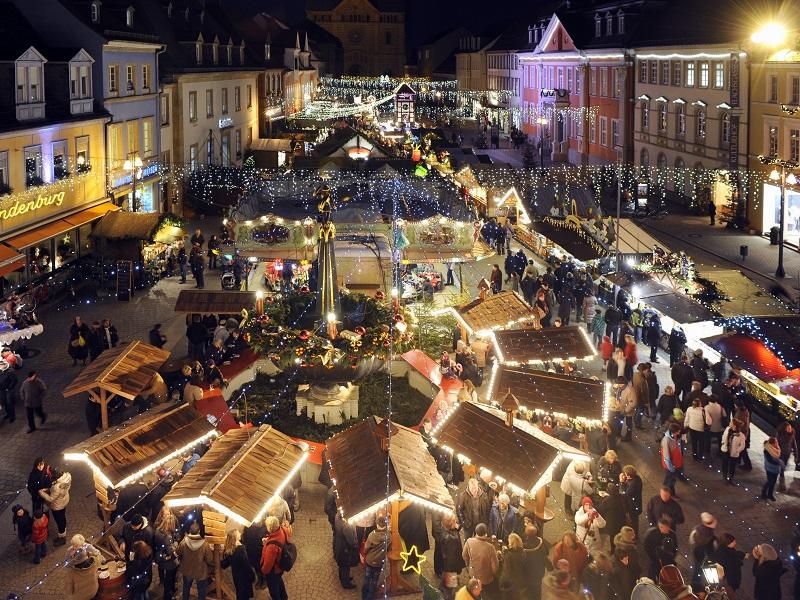 Landau Weihnachtsmarkt.Weihnachtsmarkte