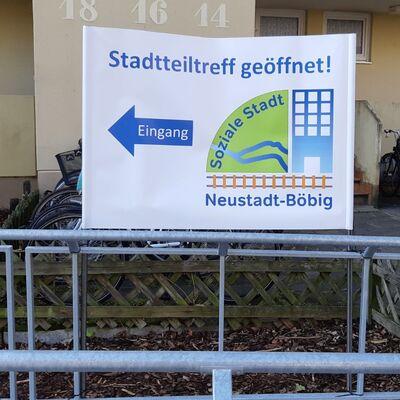 Bild vergrößern: Soziale Stadt Böbig - Geschosswohnungsbau