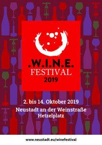 Broschüre W.I.N.E.Festival 2019