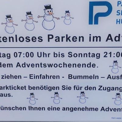 Parken im Advent